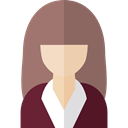 job, woman, profession, people, Occupation, Avatar Gray icon