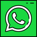 logotype, social media, Logos, Message, Chat, social network, Logo, Whatsapp LimeGreen icon