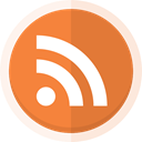 blogger, Blogging, Rss, feed, rss logo Coral icon