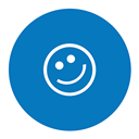 Friendster DarkCyan icon