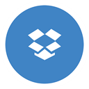 dropbox SteelBlue icon