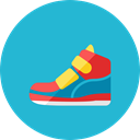 Sneakers, 2 LightSeaGreen icon
