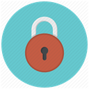 Lock, Safe, private, security, Key, locked, protect MediumTurquoise icon