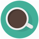 coffe pause, Coffe, hot, cup drink, Coffee, Pause, beverage CadetBlue icon