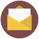 Email, Message, document, documents, mail, File, paper DimGray icon