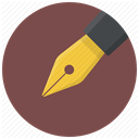 Edit, pencil, Pen, write, document DimGray icon