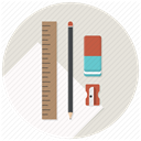 Blueprints, Build, Develop, sharpner, Development, Pen Gainsboro icon
