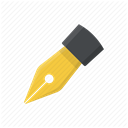 office, Draw, Pen, graphic, writing, Handwriting, Drawing DimGray icon