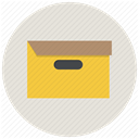 office, Archive, package, Box, Archieve, Folder, File Gainsboro icon
