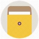 mail, office, File, Folder, package, envelope, document SandyBrown icon