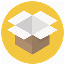 post, postage, Shipping, package, Delivery, Box, order SandyBrown icon