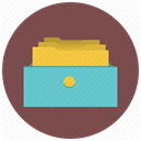 Boxes, Cabinet, Archive, Archives, Database, Data, Cab DimGray icon