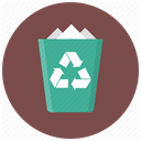 delete, Bin, recycle, remove, Trash, Garbage, cancel DimGray icon