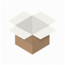 Box, order, package, postage, Delivery, post, Shipping DimGray icon