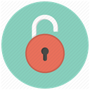 security, Key, Lock, Safe, Access, private, Unlocked MediumAquamarine icon