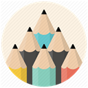 pencils, paint, graphic, Edit, editor, write, Draw Linen icon