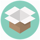 post, Shipping, Delivery, package, postage, Box, order Icon