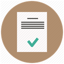 paper, Text, Data, approve, document, sheet, File Icon