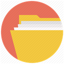 brief, breafcase, document, Folder, File, Directory, portfolio SandyBrown icon