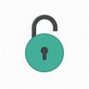 password, unprotected, login, Access, Unlock, username, Unlocked DimGray icon