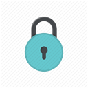 locked, login, Protected, password, protect, username, no access DimGray icon