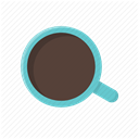 beverage, cup, coffee break, morning, coffee mug, coffee time, Coffee DimGray icon