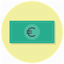 Shop, Euro, Money, Business, payment, Cash, Currency Icon