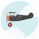 shippment, fast delivery, Delivery, Plane, Air delivery, cargo, Courier Lavender icon