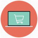 shopping, online, ecommerce, buy, shopping cart, Cart, Shop Coral icon