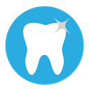 Dentist, Clean, dental, tooth DodgerBlue icon