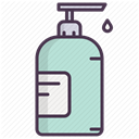liquid, Beauty, handcare, hand wash, soap, cosmetics DimGray icon