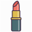 care, fashion, cosmetics, Makeup, Beauty, Lipstick DimGray icon