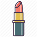 cosmetics, Beauty, fashion, care, Makeup, Lipstick DimGray icon