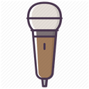 music, Audio, sound, Microphone, record, mic, Device DimGray icon