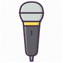 mic, record, Audio, Device, music, sound, Microphone DimGray icon