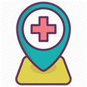 medicine, recovery, care, treatment, hospital DimGray icon