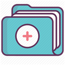 recovery, hospital, care, treatment, medicine DimGray icon