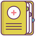 treatment, hospital, medicine, recovery, care SandyBrown icon