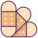 treatment, hospital, care, medicine, recovery Bisque icon