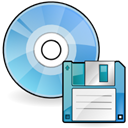 disks SkyBlue icon