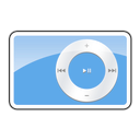 ipod, 2g, shuffle, Blue DodgerBlue icon