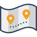 Map, position, interface, Maps And Flags, location, Geography, Orientation, travel WhiteSmoke icon