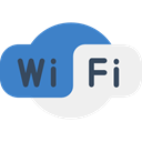 technology, wireless, signs, Computer, travel, Wifi, Multimedia, Connection, internet SteelBlue icon