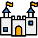 Toy, Castle, buildings, vacations, Sand Castle, Summertime, Beach, childhood, travel, medieval WhiteSmoke icon