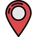 Map Point, signs, placeholder, map pointer, Maps And Flags, Map Location, travel, pin Black icon
