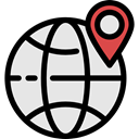 Map Point, Geolocalization, Maps And Flags, placeholder, map pointer, pin, Gps, position, travel, Map Location Gainsboro icon