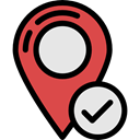 placeholder, interface, signs, pin, Maps And Flags, map pointer, travel, Map Location, Map Point Black icon