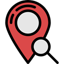 signs, travel, map pointer, placeholder, pin, Gps, search, Map Location, Map Point Black icon