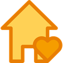 interface, Page, real estate, buildings, house, Home, internet SandyBrown icon