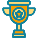 trophy, winner, Champion, Business And Finance, award, cup DarkCyan icon